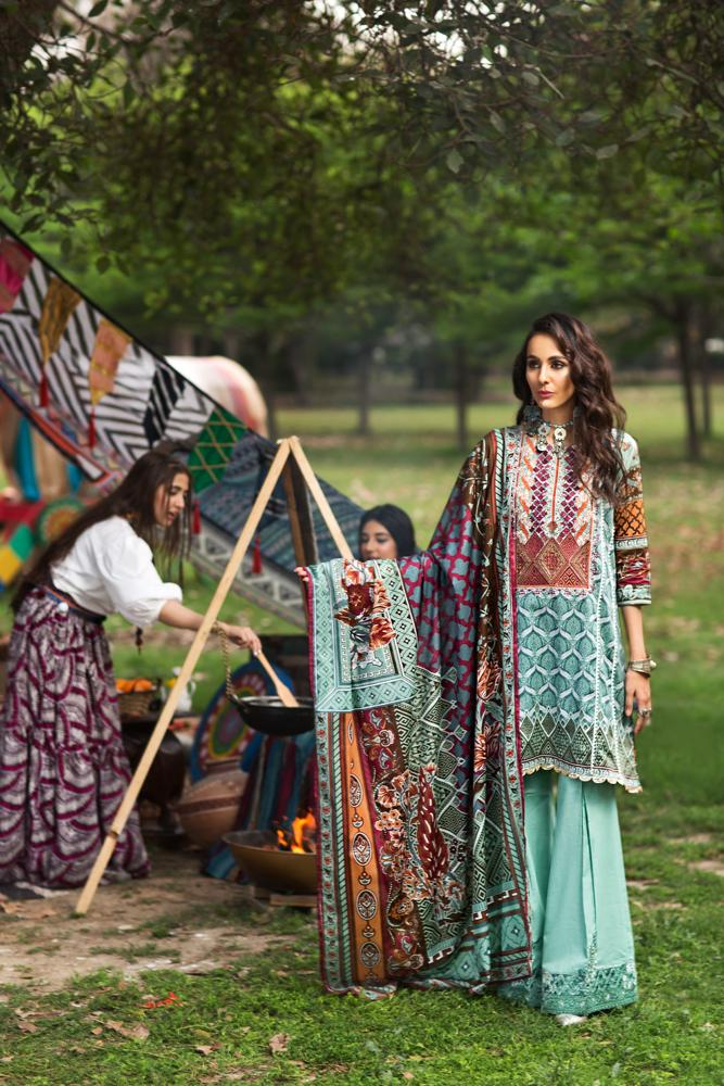 Florent Gypsy Summer Lawn Vol-2 2019 suit FL-9A