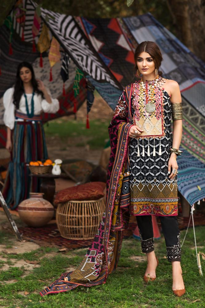 Florent Gypsy Summer Lawn Vol-2 2019 suit FL-9B