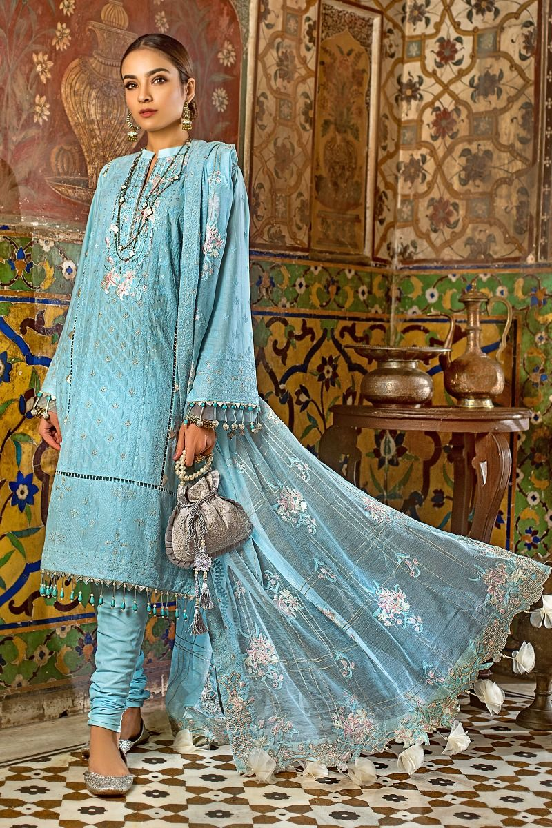 Gul Ahmed Eid-ul-Azha Collection 2020 suit FE-303