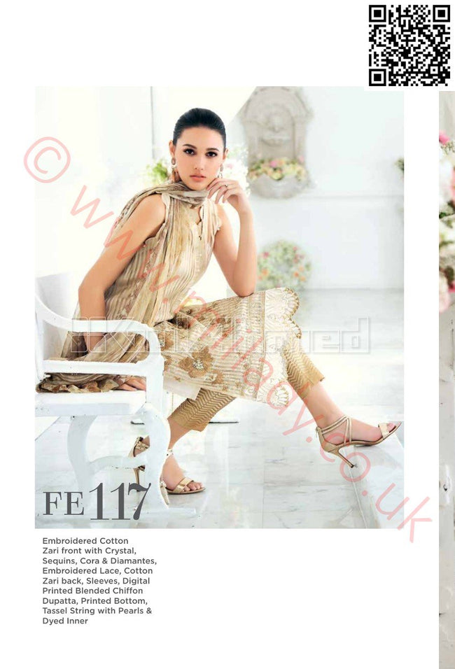 Gul Ahmed Eid 2018 suit FE-117