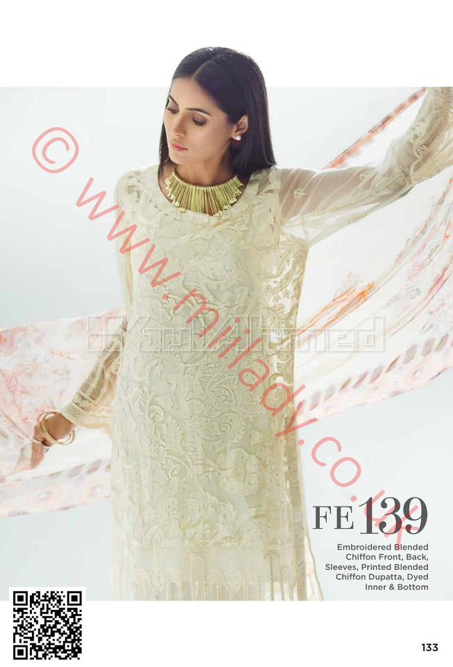 Gul Ahmed Festive Eid Collection 2018 suit FE139 -