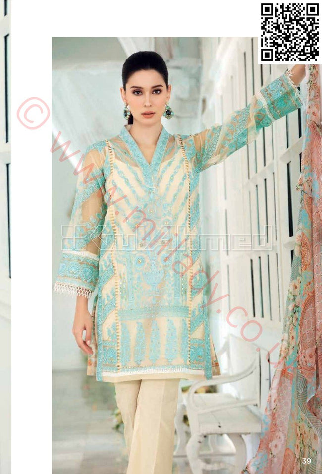 Gul Ahmed Eid 2018 suit FE88