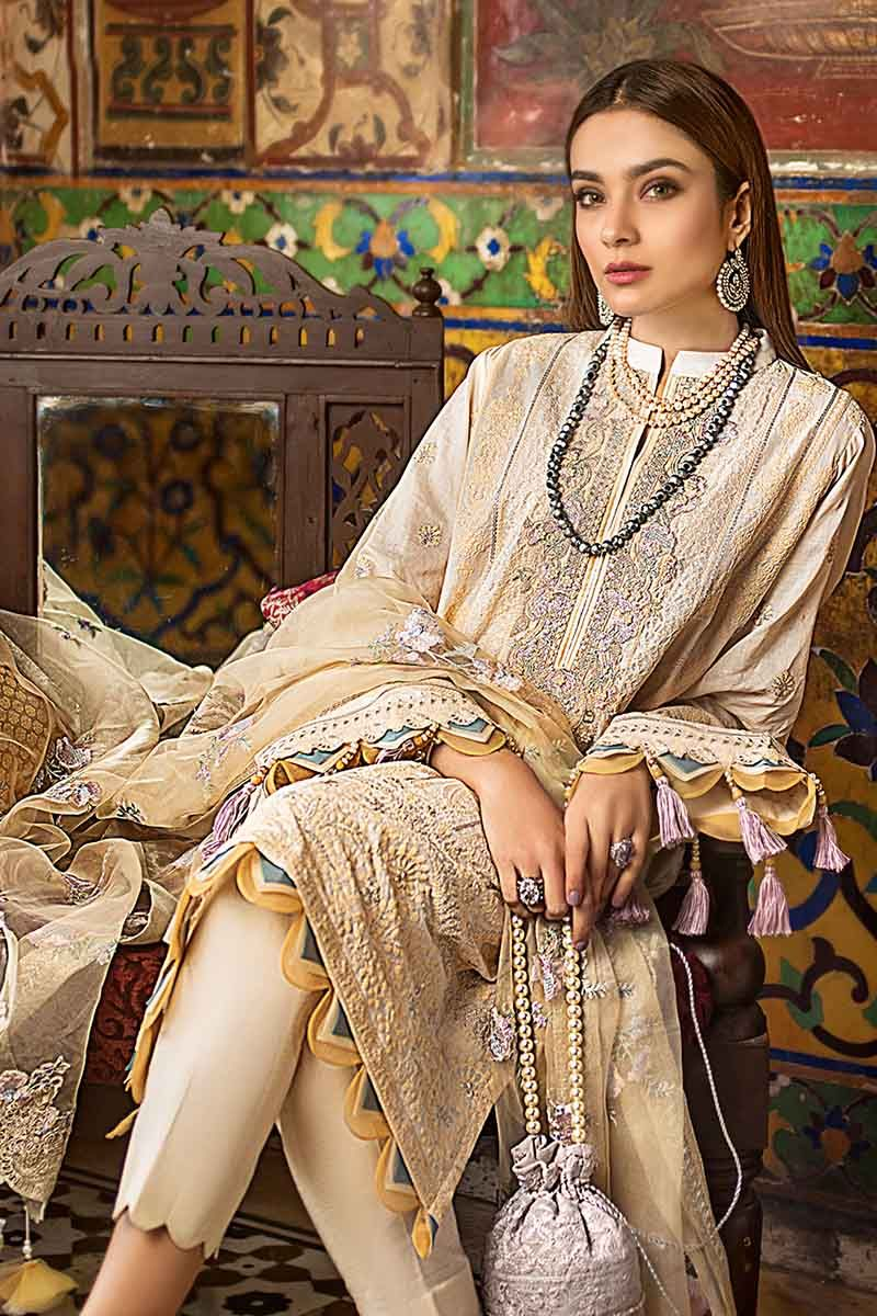 Gul Ahmed Festive Collection 2020 suit FE300