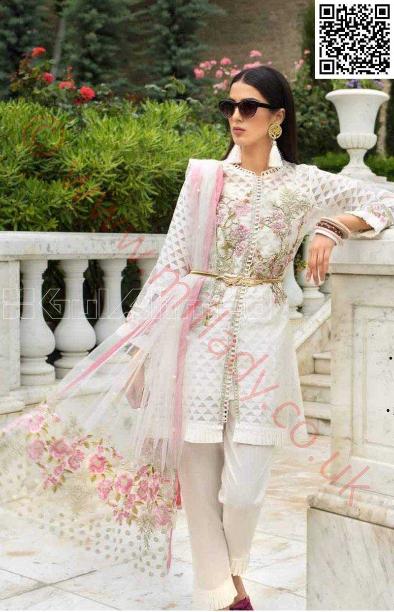 Gul Ahmed Festive Eid Vol-2 Luxury Issue 2018 suit EA-45