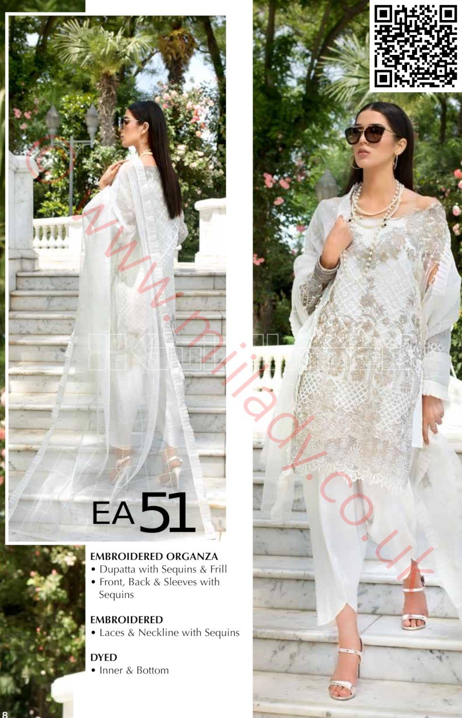 Gul Ahmed Festive Eid Luxury Edition Vol-2 2018 suit EA-51
