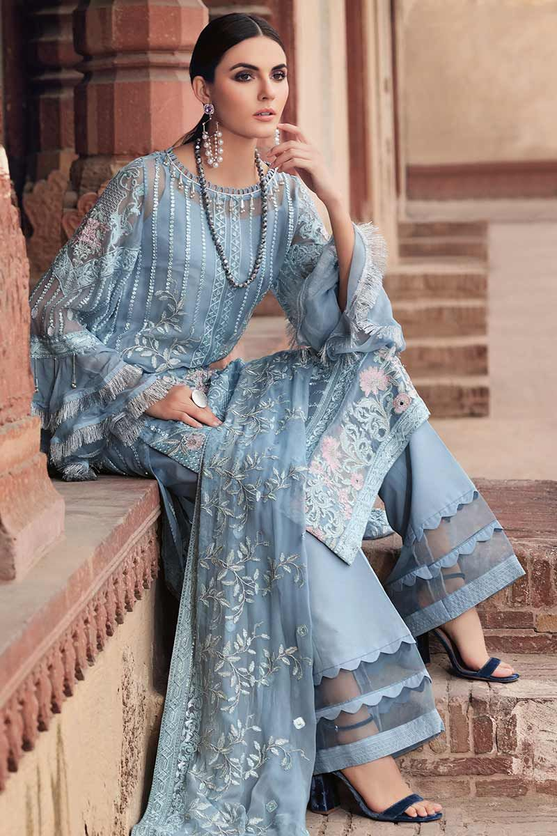 Gul Ahmed Premium Luxury Chiffon 2019 suit LE-02
