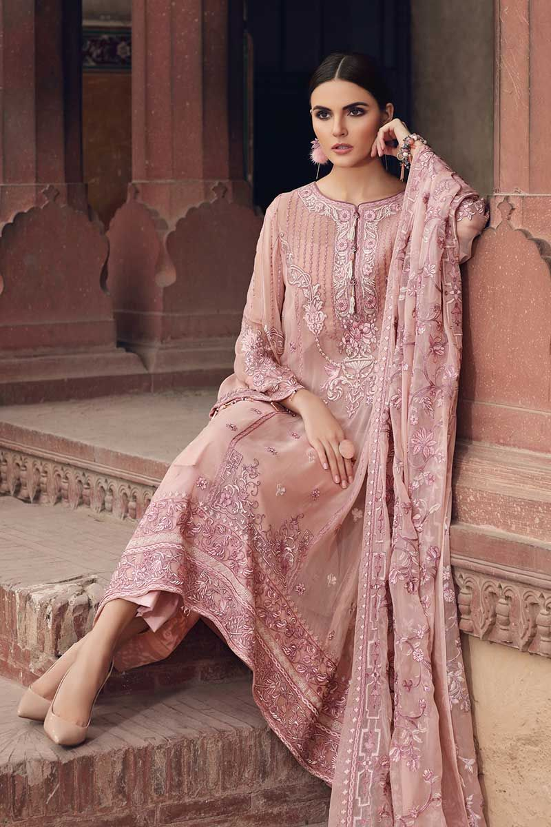 Gul Ahmed Premium Luxury Collection 2019 suit LE-04