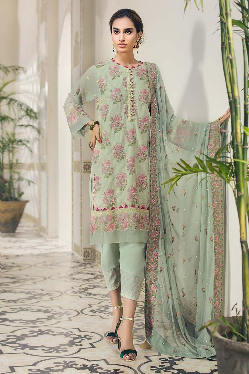 Gul Ahmed Premium Luxury Summer 2019 suit LSV-07