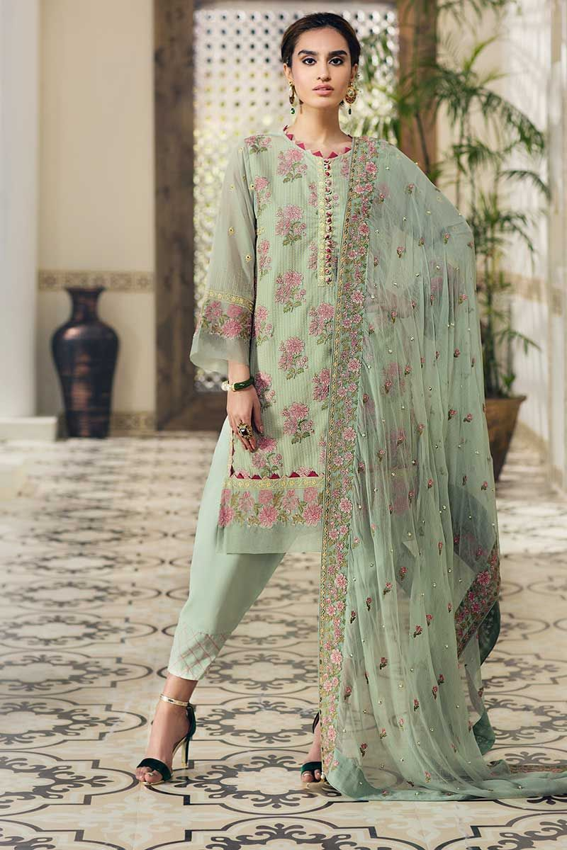 Gul Ahmed Premium Luxury Collection 2019 suit LSV-07