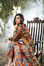 Gul Ahmed Silk Karandi suit KR-06