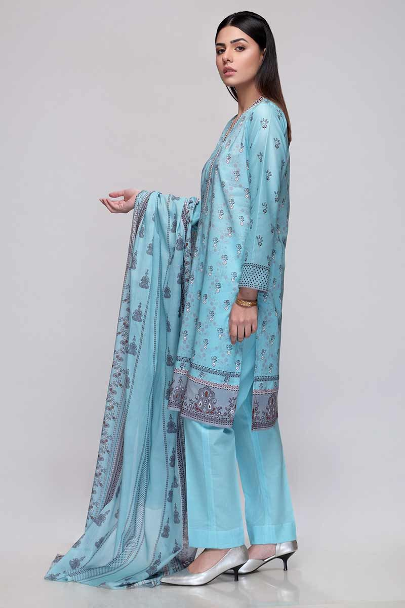 Gul Ahmed Summer 2020 suit CL-702 B