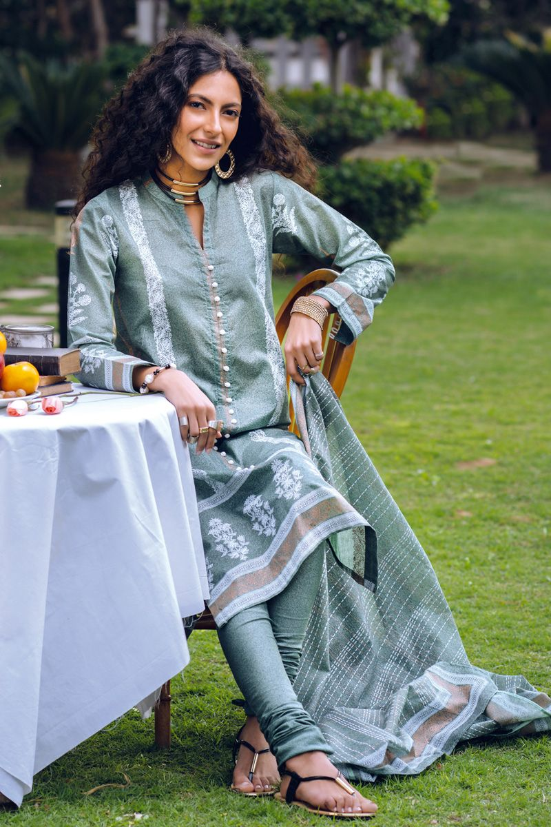 Gul Ahmed Summer Basic Collection 2020 suit CL-719B