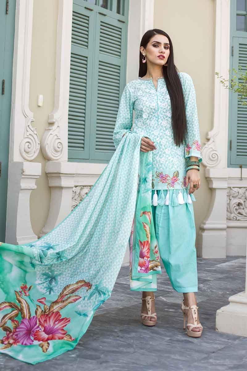 Gul Ahmed Summer Essential Vol-1 2019 suit CL-570A