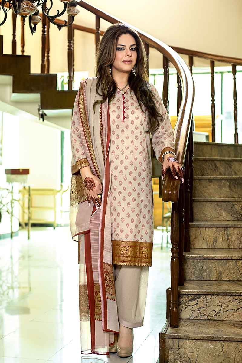 Gul Ahmed Summer Essential Vol-1 suit CL-585A