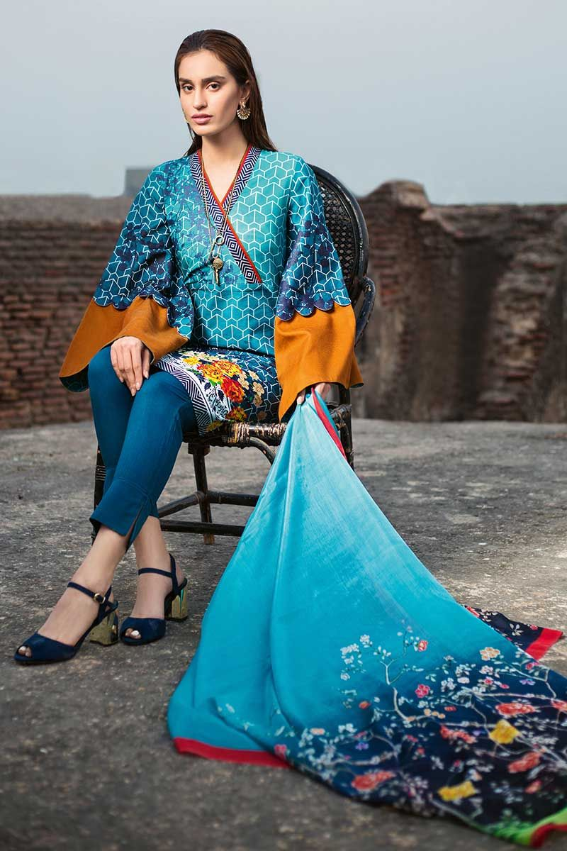 Gul Ahmed Essential Vol-1 suit SS-167