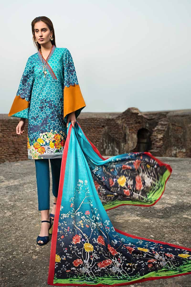 Gul Ahmed Summer Essential Vol-1 2019 suit SS-167