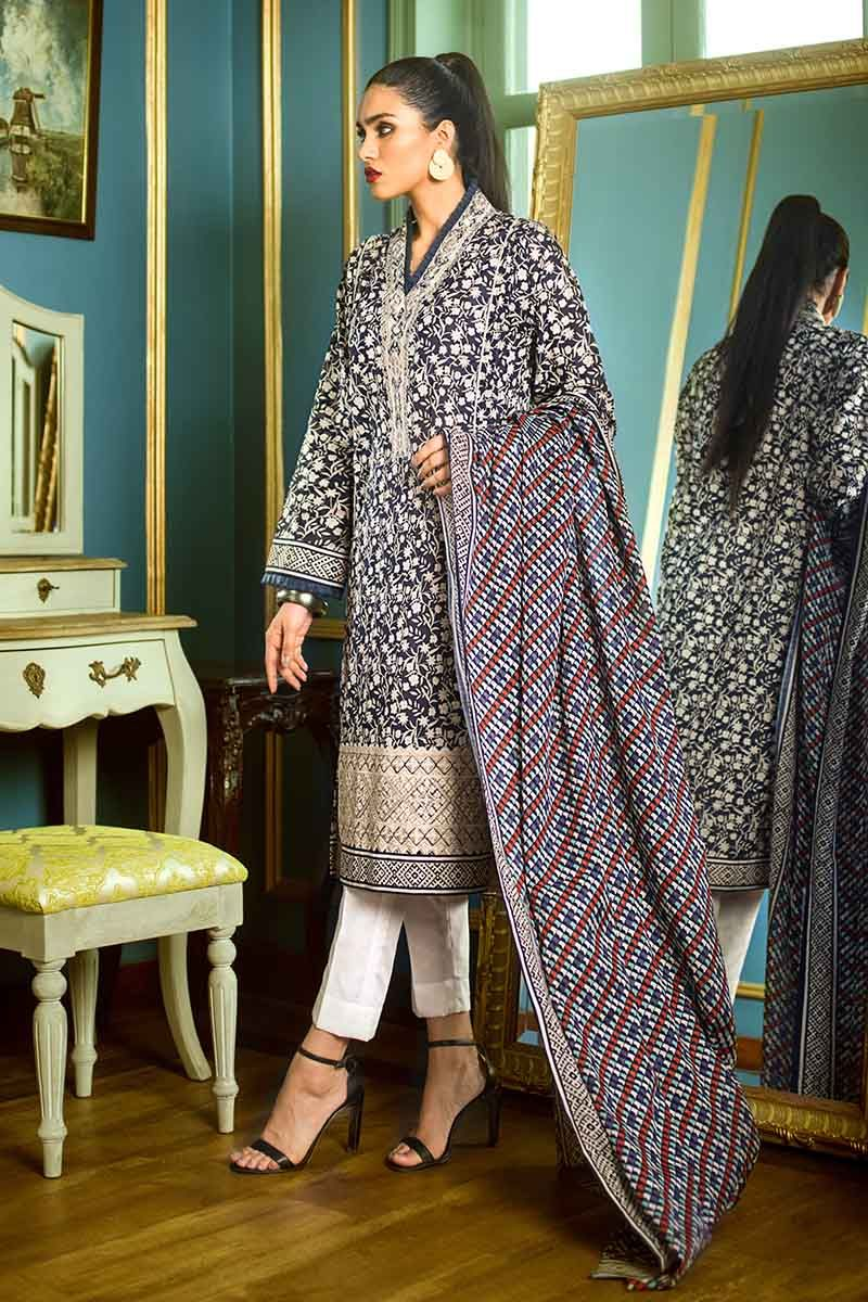 Gul Ahmed Essential Vol-1 2019 suit TL-194B