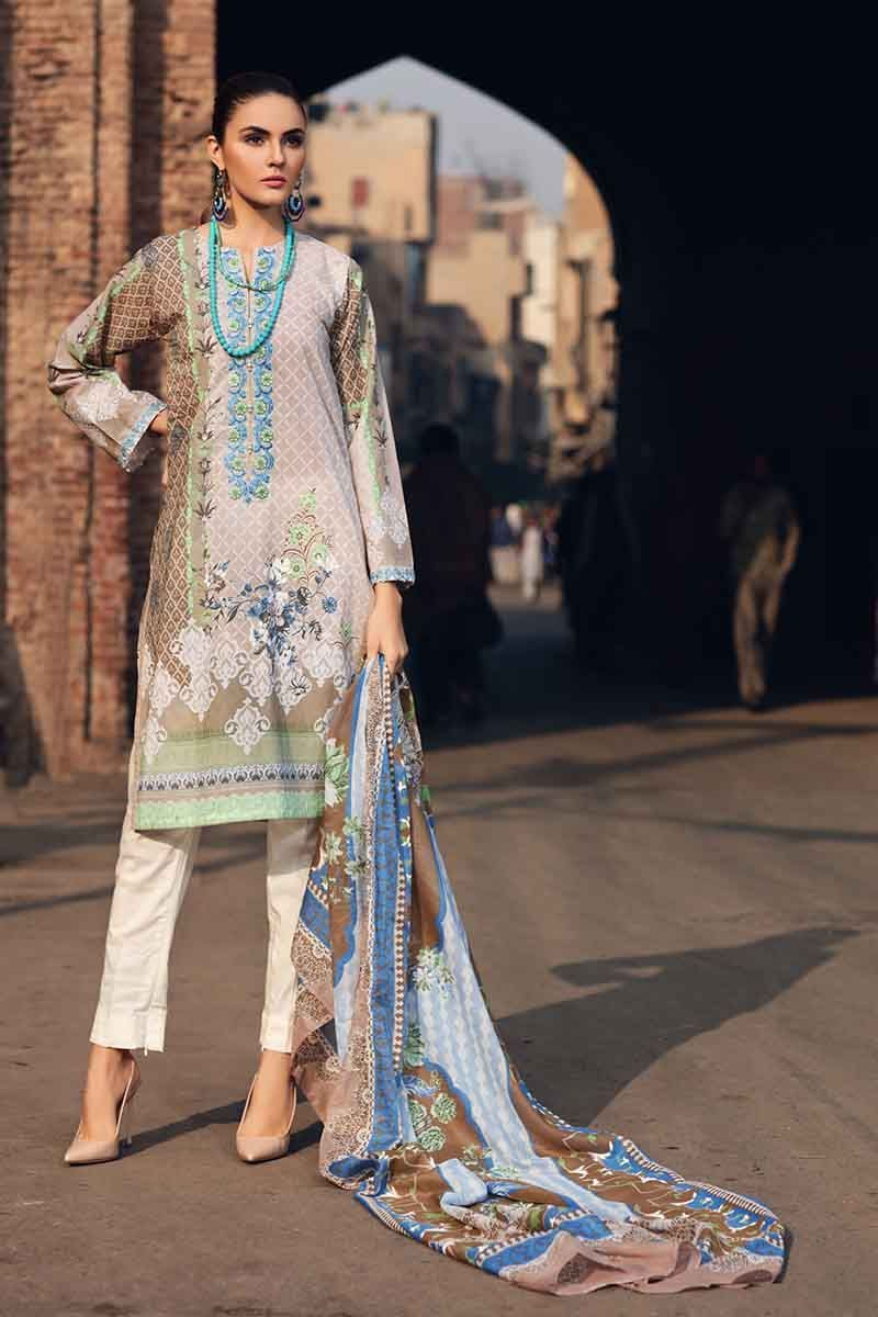 Gul Ahmed Summer Essential Vol-1 2019 suit TL-219B