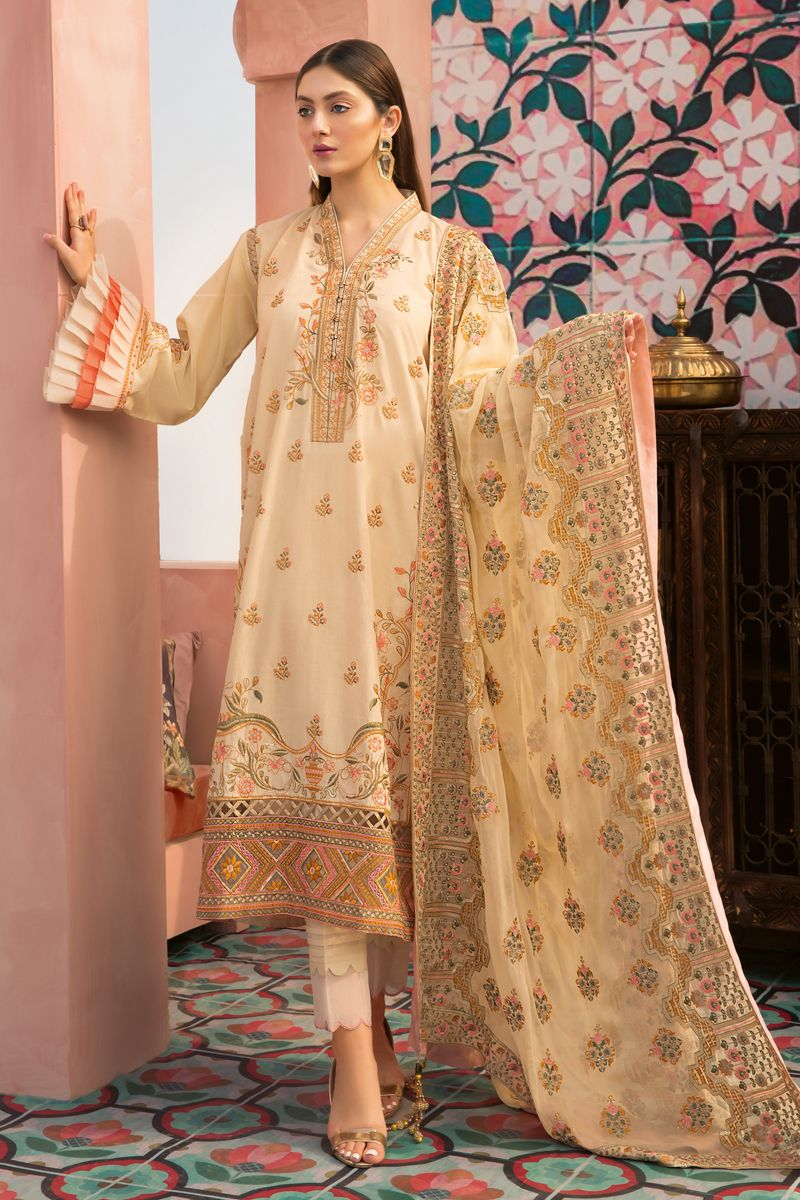 Gul Ahmed Summer 2020 Premium Collection suit PM-323