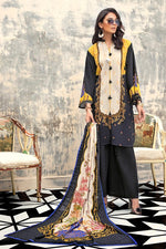 Gul Ahmed Winter Collection 2020 Black Khaddar suit K-106