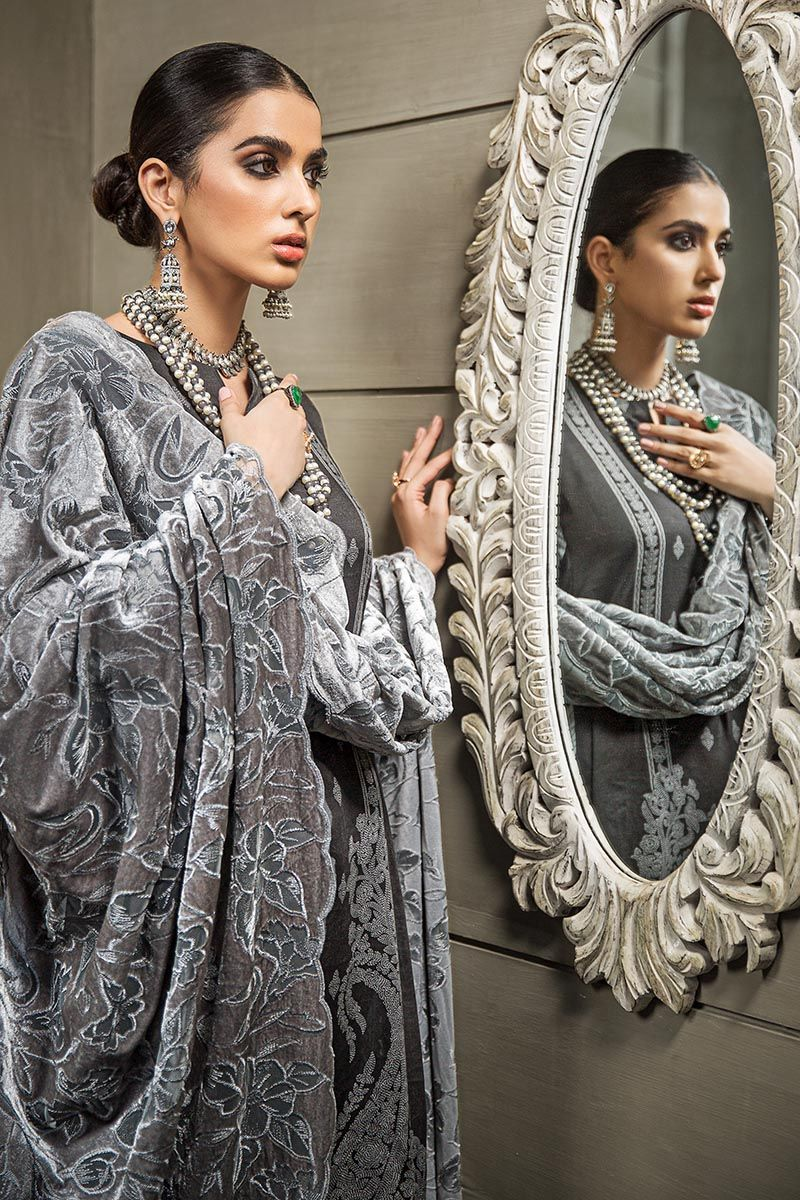 Gul Ahmed Winter Collection 2020 PM-318
