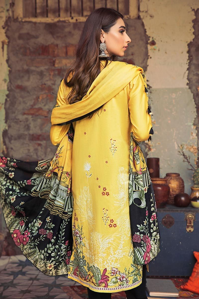 Gul Ahmed Winter 2020 suit CD-49