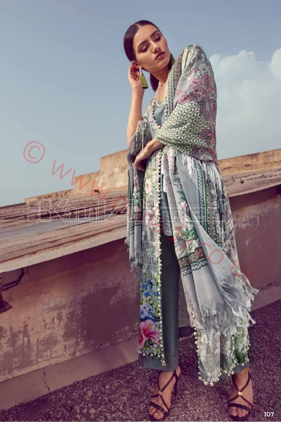 Gul Ahmed Winter 2018 Suit PSM1