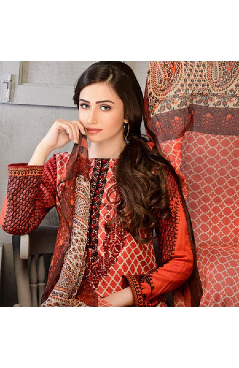 Gul Ahmed  Winter suit C-382