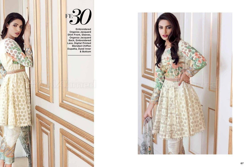 Gul Ahmed Luxury Festive suit FE-30