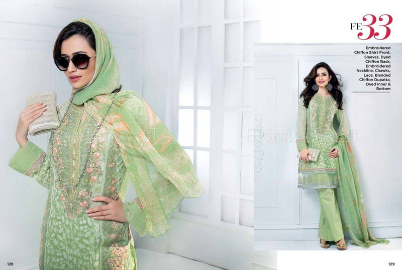 Gul Ahmed Luxury Festive suit FE-33