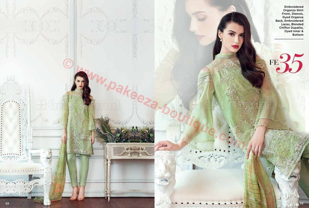 Gul Ahmed Luxury Festive suit FE35