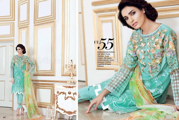 Gul Ahmed Luxury Festive suit FE55