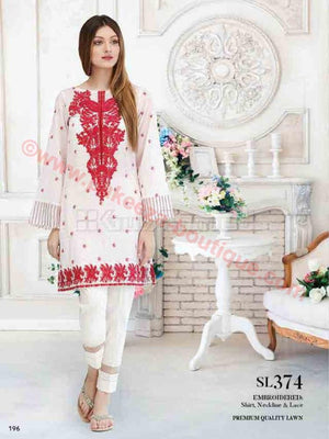 Gul Ahmed Essential Summer 2017 suit SL-374