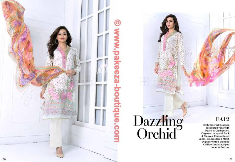Gul Ahmed Festive suit EA-12