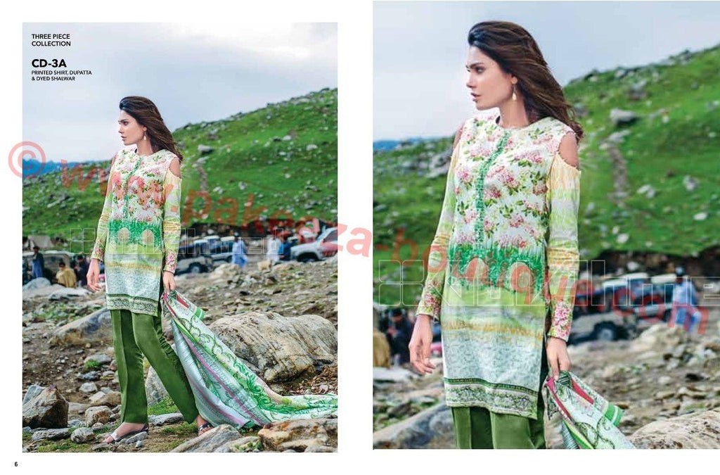 Gul Ahmed Winter 2015 vol1 suit CD-3A