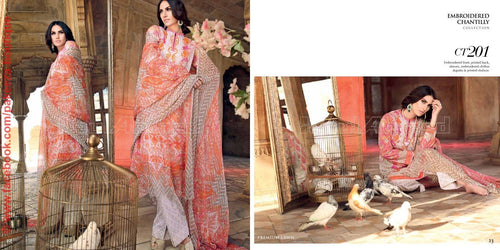 Gul Ahmed Festive 2016 suit CT-201