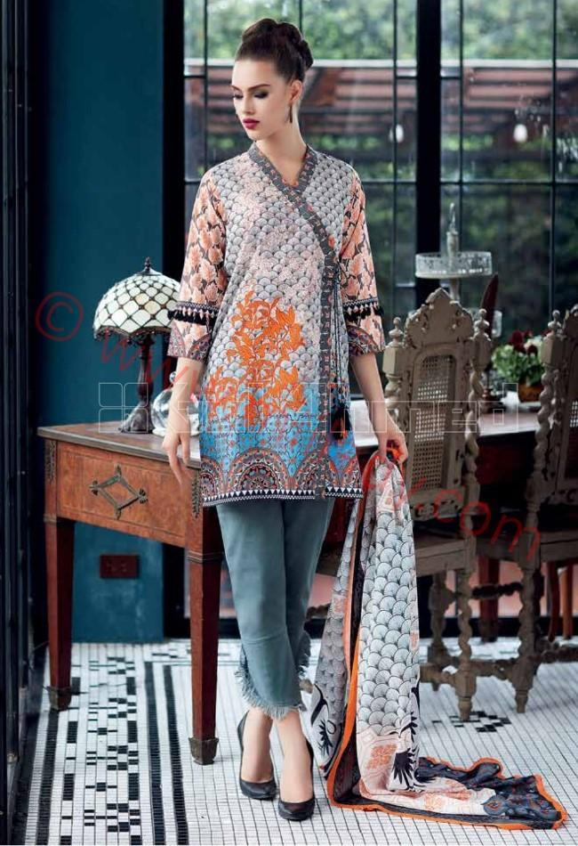 Gul Ahmed Pre-Fall suit CBN-42B