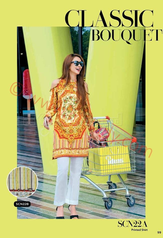Gul Ahmed Pre-Fall suit SCN-22A