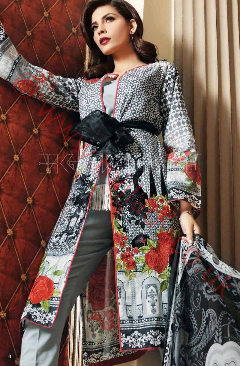 Gul Ahmed Premium Summer 2018 suit C494