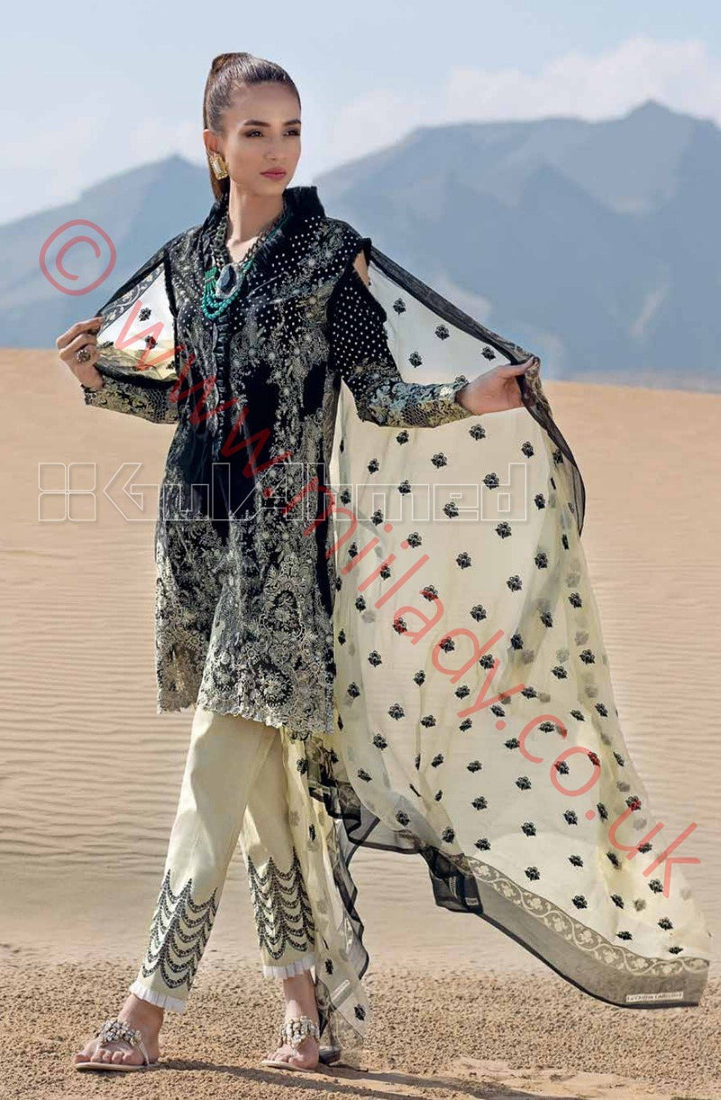 Gul Ahmed Premium Summer 2018 suit CPM1