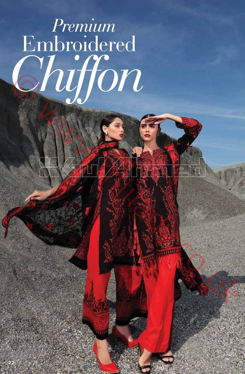 Gul Ahmed Premium Summer 2018 suit PM177