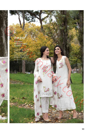 Gul Ahmed Premium Summer 2018 suit PM210