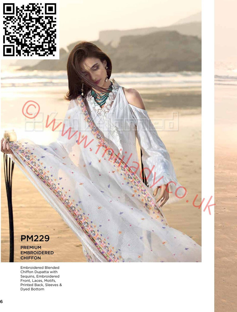 Gul Ahmed Summer 2018 suit PM229