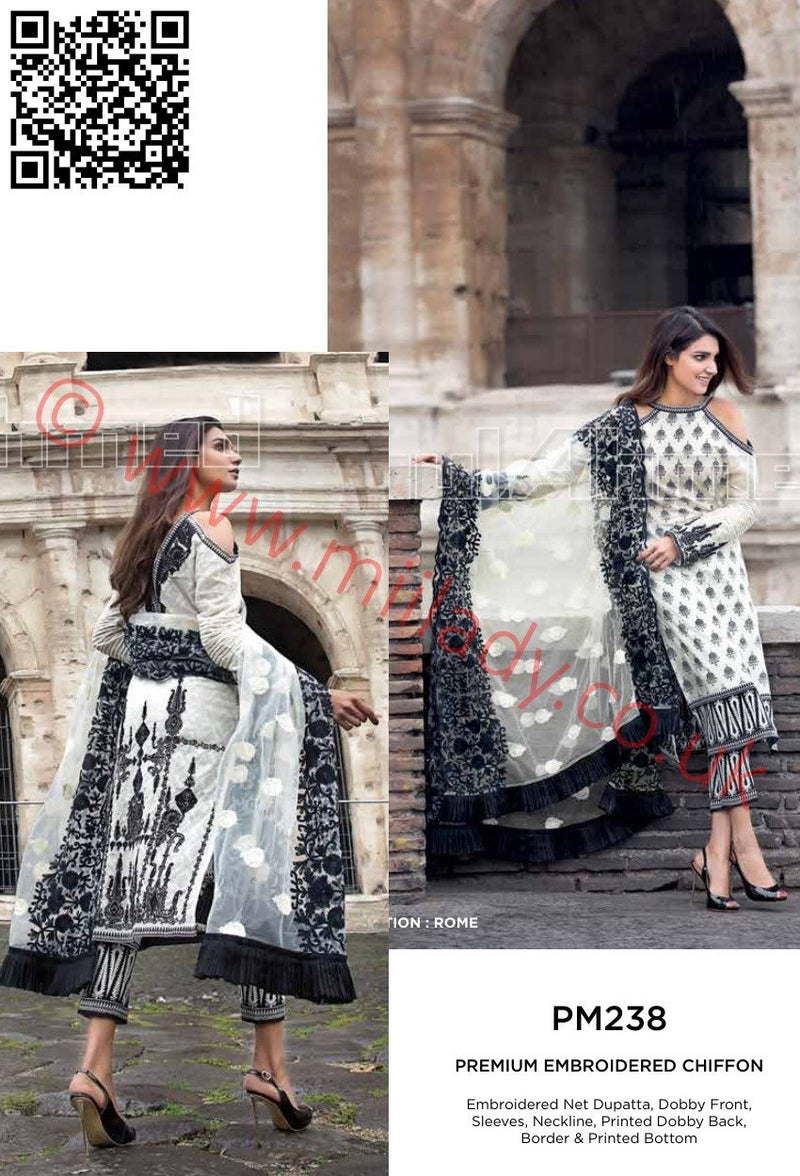Gul Ahmed Summer 2018 suit PM238