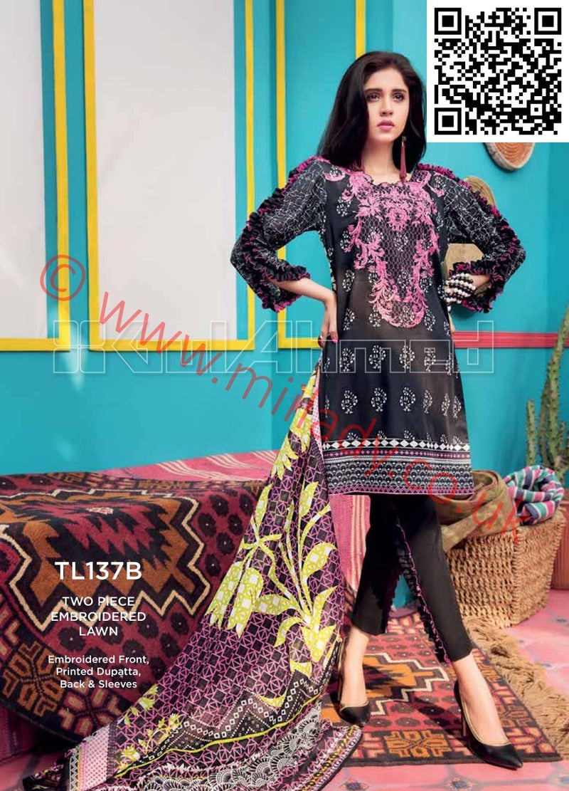 Gul Ahmed Summer 2018 suit TL137B