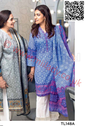 Gul Ahmed Summer 2018 suit TL148A