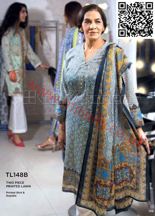 Gul Ahmed Summer 2018 suit TL148B