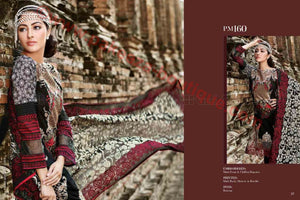 Gul Ahmed Summer Premium Lawn 2017 suit PM-160