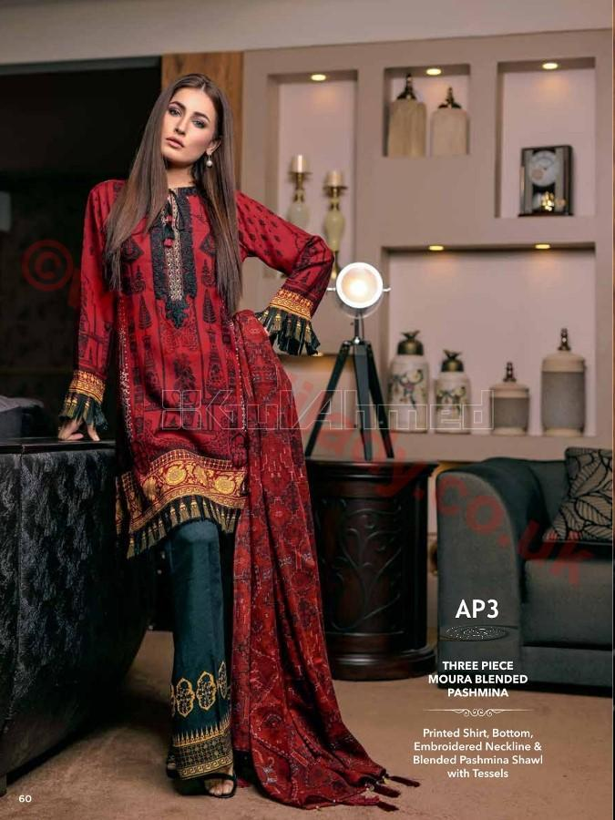 Gul Ahmed Winter Suit AP3