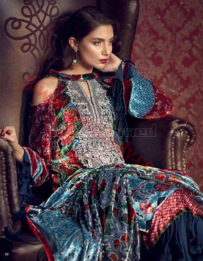 Gul Ahmed Fall Winter Suit BVL4_2017